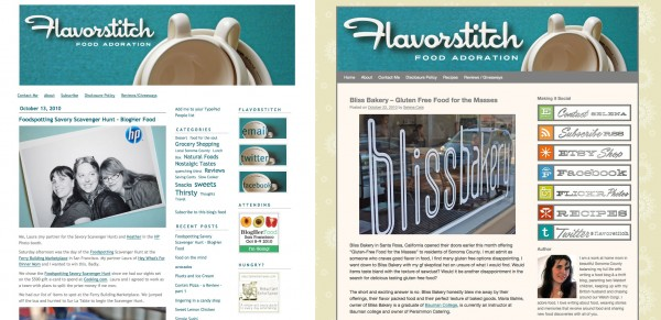 Flavorstitch Website Screenshot